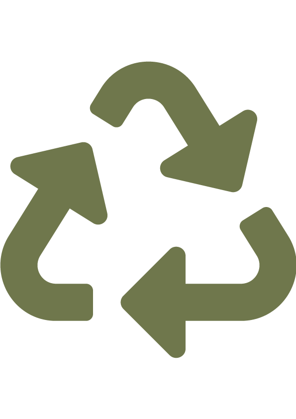 Emballage 100% recyclable