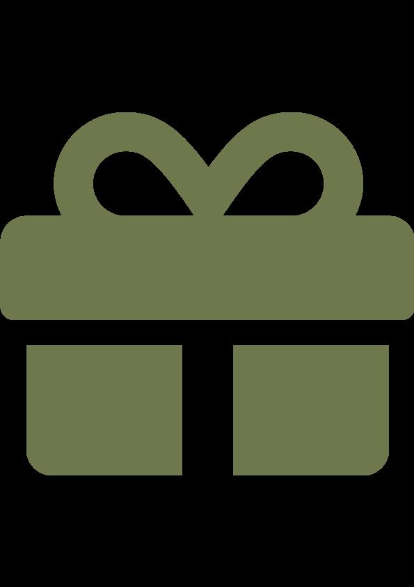 Message personnalisé offert pour un cadeau